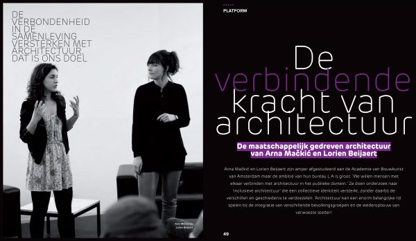 Interview in Architectuur NL