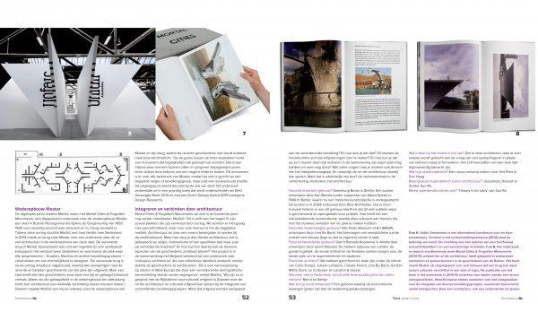 Interview in Architectuur NL