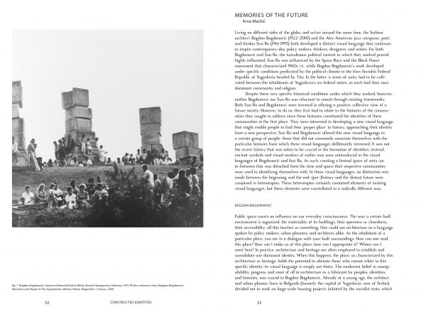 New article in Kunstlicht magazine – Memories of the Future