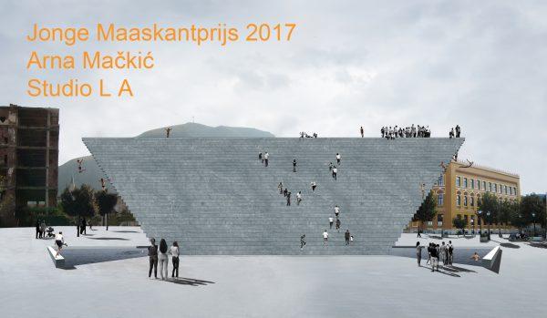Arna Mackic winner Young Maaskant prize 2017