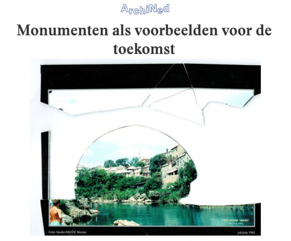 Articles in het Parool & Archined