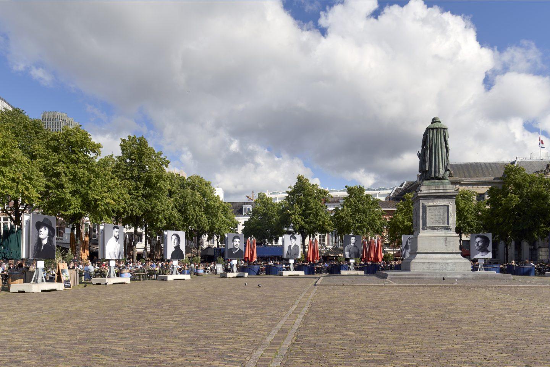 Tijdelijk monument op het Plein in Den Haag © Ronald Tilleman